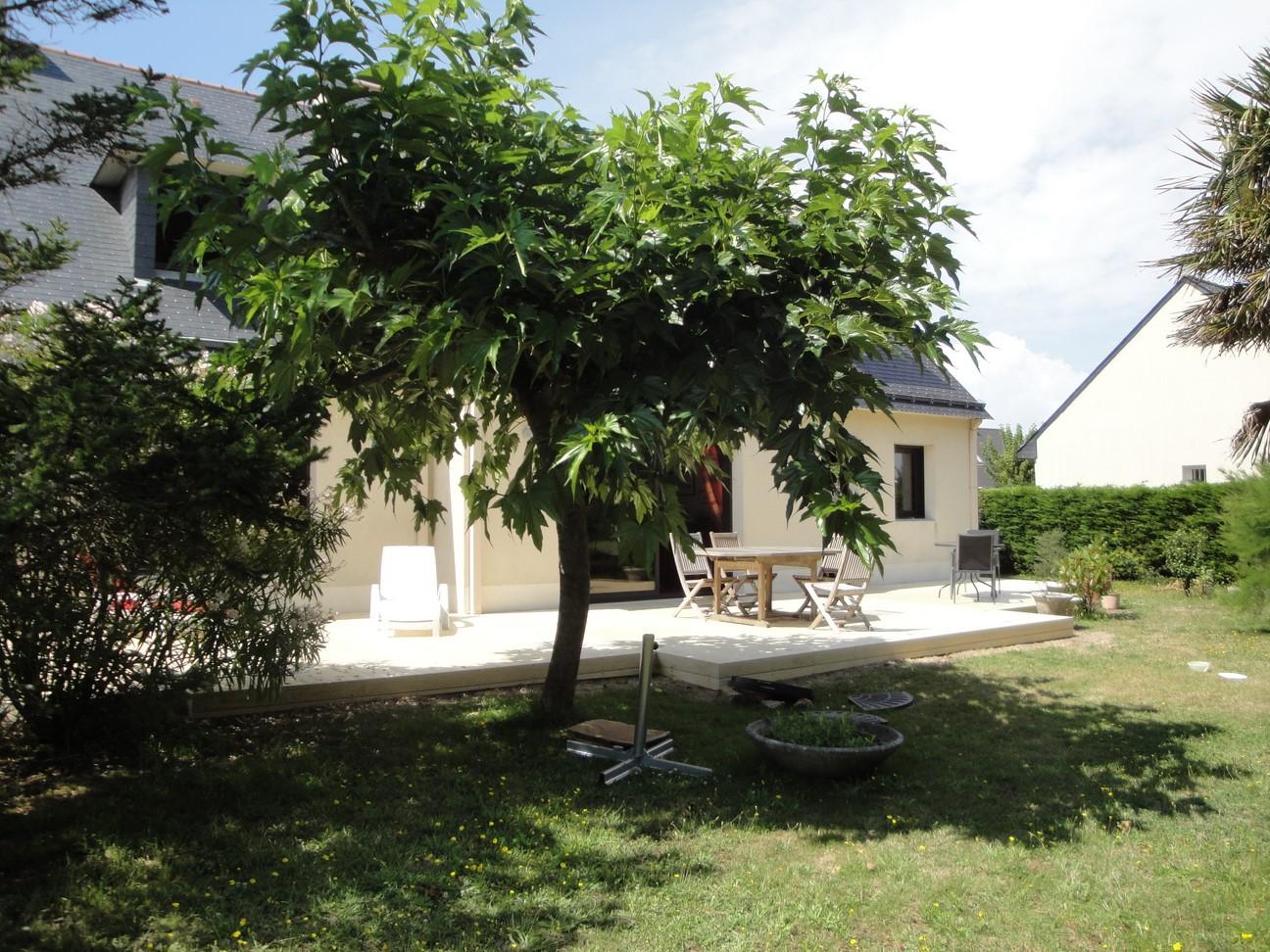 Terrasse en Accoya à Piriac